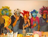 Artspectrum Events maskers maken